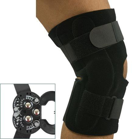 Universal Hinged Knee Brace
